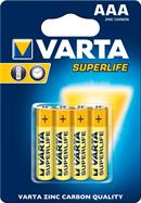 Brunstens batterier AAA Superlife - pakke med 4 stk. AAA Brunstens batterier