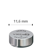 11,6 mm ur batteri
